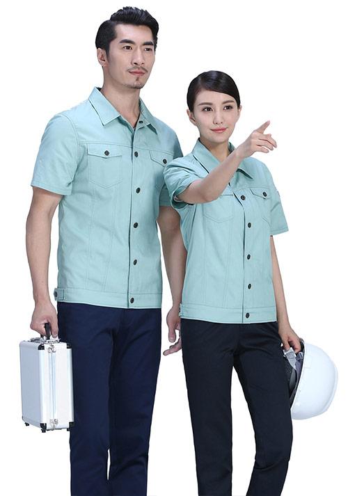 短袖工作服定制